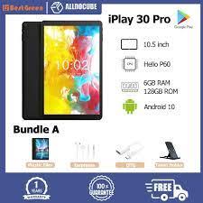 【CỔ ĐIỂN】 Máy tính bảng Alldocube iPlay 20 Pro 10.1 inch IPS 1920x1200  SC9863A A55 6GB RAM 128GB ROM Máy tính bảng Android 10 Hỗ trợ thẻ nhớ TF /  Bluetooth 5.0 / WIFI kép / OTG / GPS / Hai SIM 4G Máy tính bảng gọi điện  thoại