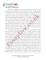 great depression essay thesis proposal application essay  the great depression best custom