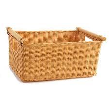 extra large wicker baskets. Fine Large The Basket Lady Pole Handle Wicker Storage Basket Large 18 Intended Extra Large Baskets Amazoncom