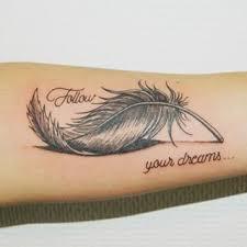 Tatouage Plume En 3d Recherche Google Tetování Tetování 3d