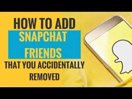 how to add snapchat friends you