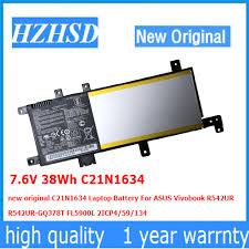 7.6V 38Wh C21N1634 new original C21N1634 <b>Laptop Battery For</b> ...