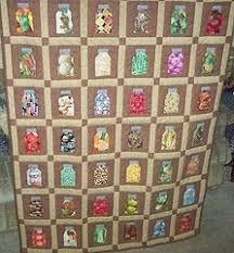 41 best jar quilts images on Pinterest | Crafts, Bookshelves and ... & Mason Jar Quilt Adamdwight.com
