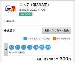 ロト 7 予想