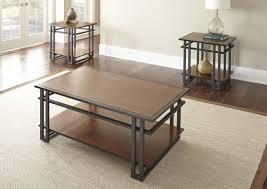 world menagerie amskroud  piece coffee table set  reviews  wayfair