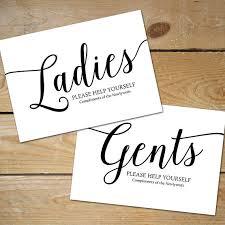 printable bathroom sign. Printable Bathroom Signs Wedding, Basket Sign // Ladies Sign, Black And White Wedding O
