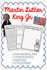 Martin Luther King Close Reading Passage