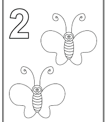 toddler coloring pages numbers number 2 coloring page numbered coloring pages coloring pages with number 2