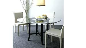42 round table glass dining halo ebony with top reviews crate and barrel luxor pedestal