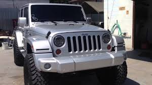 jeep jk with smooth and painted euro per customer paint