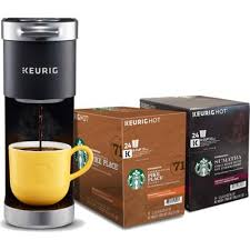 Pour one third (4.6oz) of the keurig® descaling solution into the water reservoir then add fresh water to the 10oz fill level. Keurig K Mini Plus Starbucks Bundle