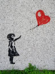 free images person girl play wave balloon number wind wall fly female love heart red child black float street art sad stand innocent