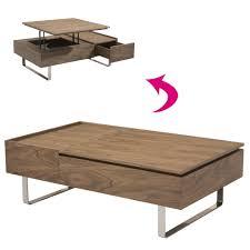 Table Basse Plateau Relevable Decome Store