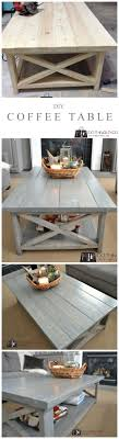 Country Coffee Tables And End Tables Diy Coffee Table Rustic X Stains Diy And Crafts And Ps