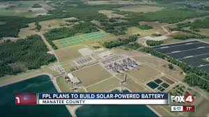 Florida Power And Light Manatee Viewing Florida Power And Light To Build Massive Solar Powered