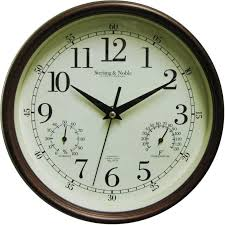 3 gallery 36 inch outdoor wall clocks