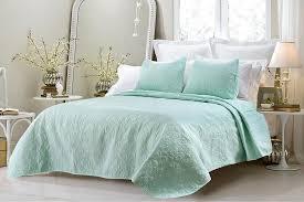 aqua bedspread sets