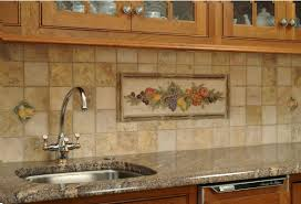 Travertine Kitchen Backsplash How To Install Backsplash On A Budget Apartment