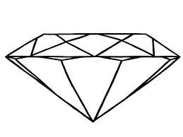 Diamond Coloring Pages Coloring Pages Free Coloring Pages Free