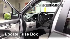 interior fuse box location 2016 2016 honda pilot 2016 honda locate interior fuse box and remove cover