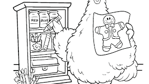 Free Printable Sesame Street Coloring Pages Sesame Street Characters