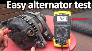 How To Test For Battery Drain With A Test Light How To Test An Alternator Testing The Voltage Regulator Diode Rectifier And Stator