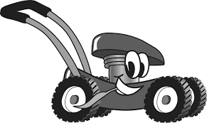 lawn mower logo. pin cartoon clipart lawn mower #1 logo