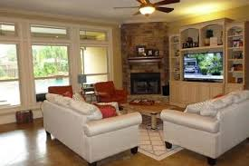 fireplace furniture arrangement. Family Room With Corner Fireplace F.. Furniture Arrangement