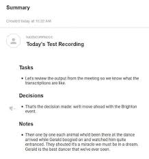 Minutes Of The Meeting The Best Meeting Minutes Transcription Software An