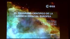 Resultado de imagen de esa agencia espacial europea en madrid