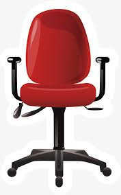 office chair materials. Fashion Office Chair, Furniture Materials, Chair PNG And Vector Materials
