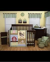 baby barnyard crib bedding set 4 piece