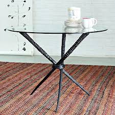 glass table base ideas for top awe inspiring sleek dining tables modern minimalist home interior coffee
