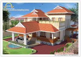 beautiful sloping roof house elevation kerala home home for sloped roof house elevation 2390 sq ft modern