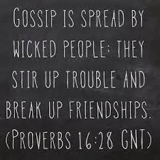Christian Gossip Quotes