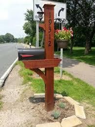 mailbox post ideas. Free Cedar Mailbox Plans - WoodWorking Projects \u0026 Post Ideas B