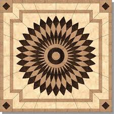 Traditional Medallion from Monticello Tile Design, Model: M015-60-M6M7M1