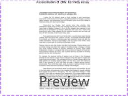 john f kennedy essay assassination of john f kennedy essay coursework academic service
