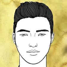 best hairstyles for men with round