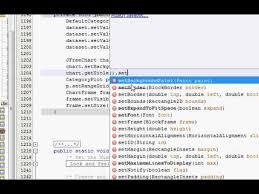 Java Color Chart Java Prog 67 How To Change Jfreechart Bar Chart Properties