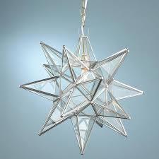 moravian star pendant light fixture 15 inch clear glass star with star pendant light fixture ideas