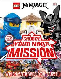 Lego Ninjago Choose Your Ninja Mission (Library Edition): With Ninjago Jay  Minifigure by Simon Hugo, Hardcover, 9781465492142 | Buy online at Moby the  Great