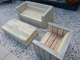 garden furniture from pallets. Pallet Outdoor Furniture Idea Garden From Pallets