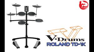 <b>Электронные барабаны ROLAND</b> TD-1K ( TD1K review and demo ...