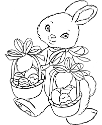 Top #30 Easter Bunny Printables [Free Coloring Pages]