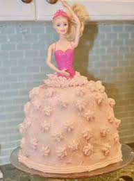 Homemade Barbie Doll Birthday Cake Idea Freshbirthdaycakecf
