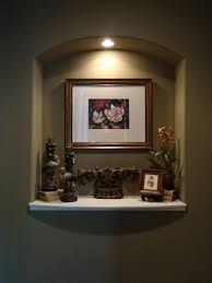 Small Picture THIS MAKES AN NICE IDEA FOR A WALL NICHE Ideas for the House