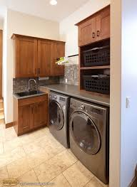 Laundry Room In Kitchen Cabinets Showplace Cabinetry Creates A Mud Room Laundry Room And