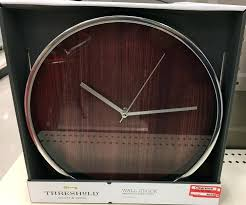 threshold wall clock target w clear clock 1 the really neat threshold wall