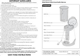Baby Brezza Formula Chart Pdf Brz00139 Milk Bottle Warmer User Manual Bw Instruction